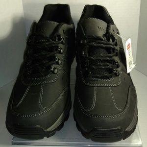 Men's Wrangler Rugged Black Oxford Shoe NWT